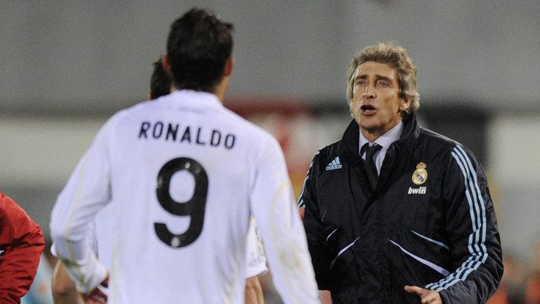 """Pellegrini ha hablado: """"Cristiano Ronaldo es un ejemplo, era fácil entrenarlo"""""""