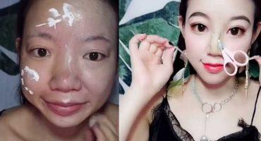 Esta chica lleva la transformación con maquillaje a otro nivel 😱😱😱