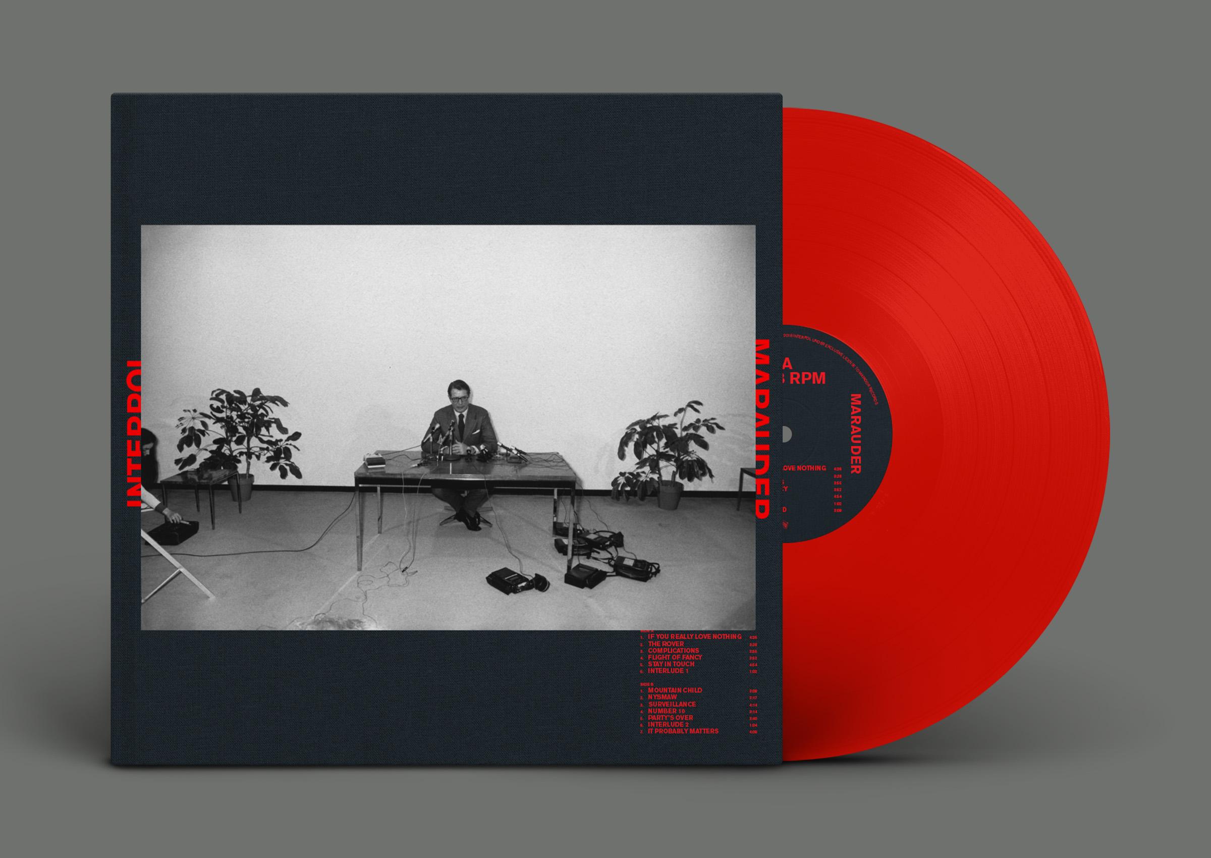 Resultado de imagen de interpol marauder album