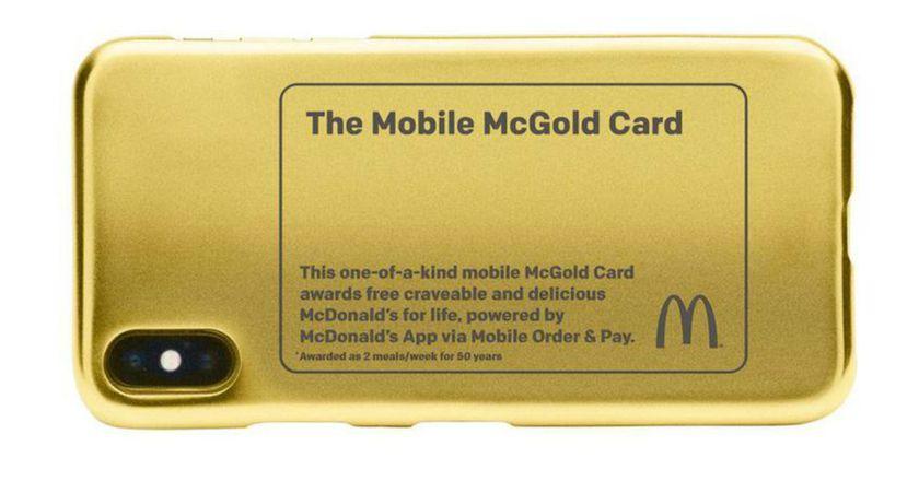 McDonald's lanza un 'Golden ticket' para comer hamburguesas de por vida