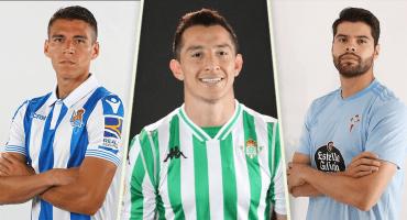 ¿Quiénes son los mexas que jugarán en España esta temporada?