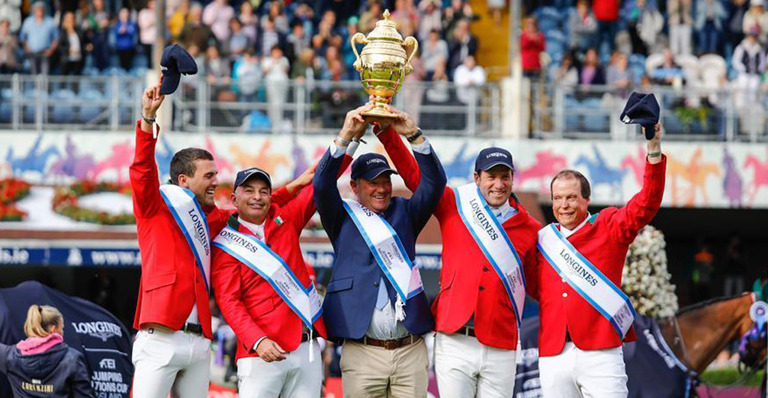 ¡Histórico! México gana por primera vez trofeo Aga Khan 2018 Horse Show