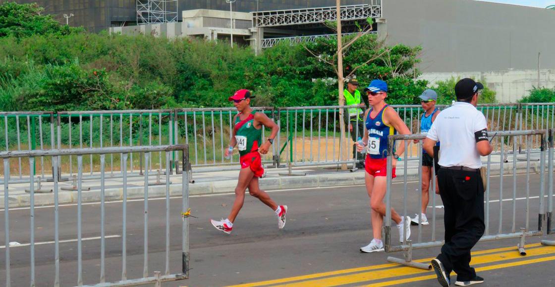 ¡México se quedó fuera del podio en marcha de 20 km luego de 42 años!