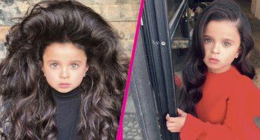 Tiembla Rapunzel: Esta niña es la sensación gracias a su cabello