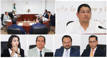 Miembros del Tribunal Electoral de Michoacán