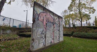 Descubren una nueva zona del Muro de Berlín