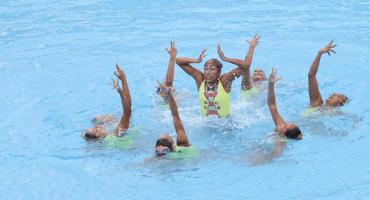 ¡Campeonas! Nado sincronizado suma 7 medallas en 7 competencias en Centroamericanos