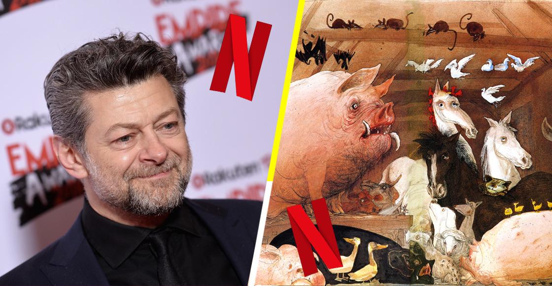 Netflix adquiere la adaptación fílmica de 'Rebelión en la granja' de Andy Serkis