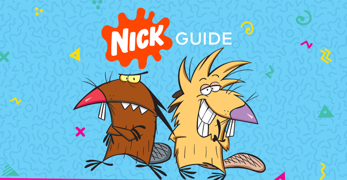 Nickelodeon lanza su propio canal para ver tus series favoritas de los 90