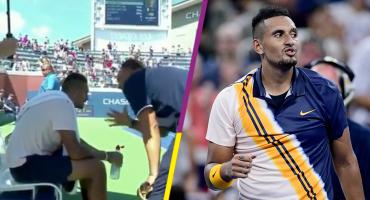 La controvertida charla de un umpire a Kyrgios en pleno juego del US Open