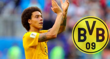 ¡Oficial! Borussia Dortmund suma a Axel Witsel como su nuevo fichaje