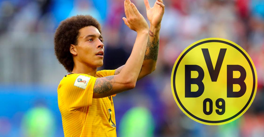 Oficial: Axel Witsel ficha por el Borussia Dortmund