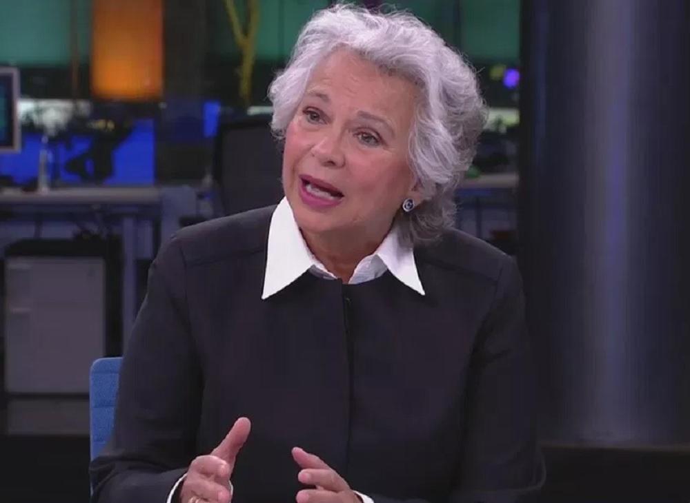 Olga Sánchez Cordero en Televisa