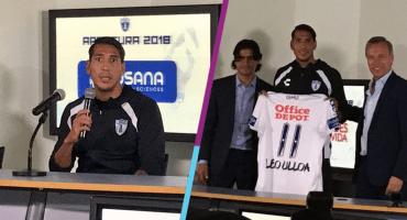 Pachuca presentó a Leonardo Ulloa, el refuerzo proveniente del Leicester