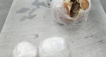 Antes le untaban aguacate… ahora decomisan pan con crystal