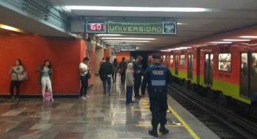 Cae pareja de invidentes a las vías del metro Hidalgo en la línea 3