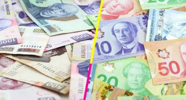 Peso sube y Dólar canadiense baja después del acuerdo entre México y EU