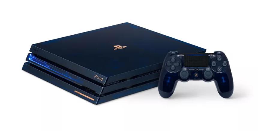 Así es el nuevo PlayStation 4 PRO de edición limitada