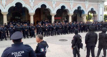 Policía estatal de Puebla tomó el control de la seguridad en Tehuacán