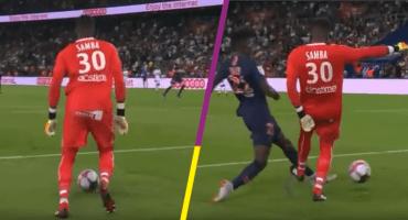 ¡Karius Style! Los errores del portero del Caen facilitan el triunfo del PSG