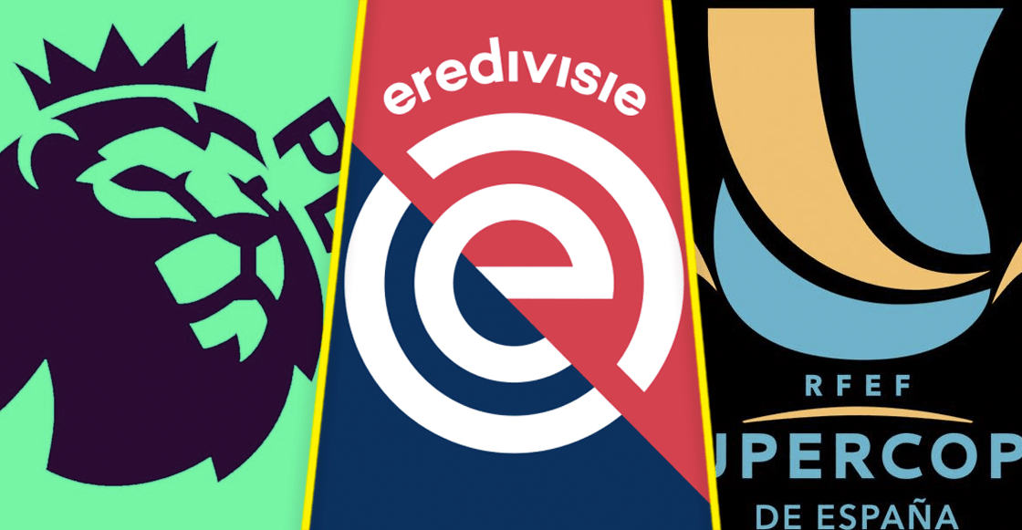 ¡Premier League, Eredevisie, Supercopa Española! Lo Imperdible del fin de semana