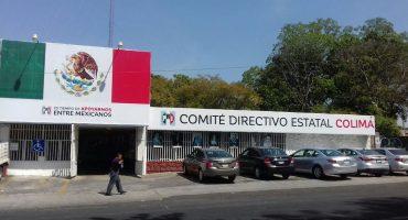 ¿Crisis? Al PRI de Colima no le alcanza y paga los sueldos con vales de gasolina