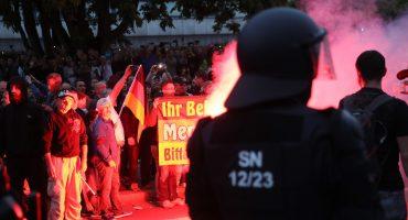 Un asesinato desencadenó protestas violentas y pro-Nazi en Alemania