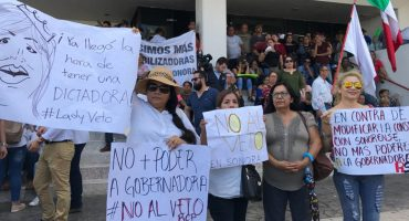 A pesar de las protestas, Congreso de Sonora aprueba #LeyVeto