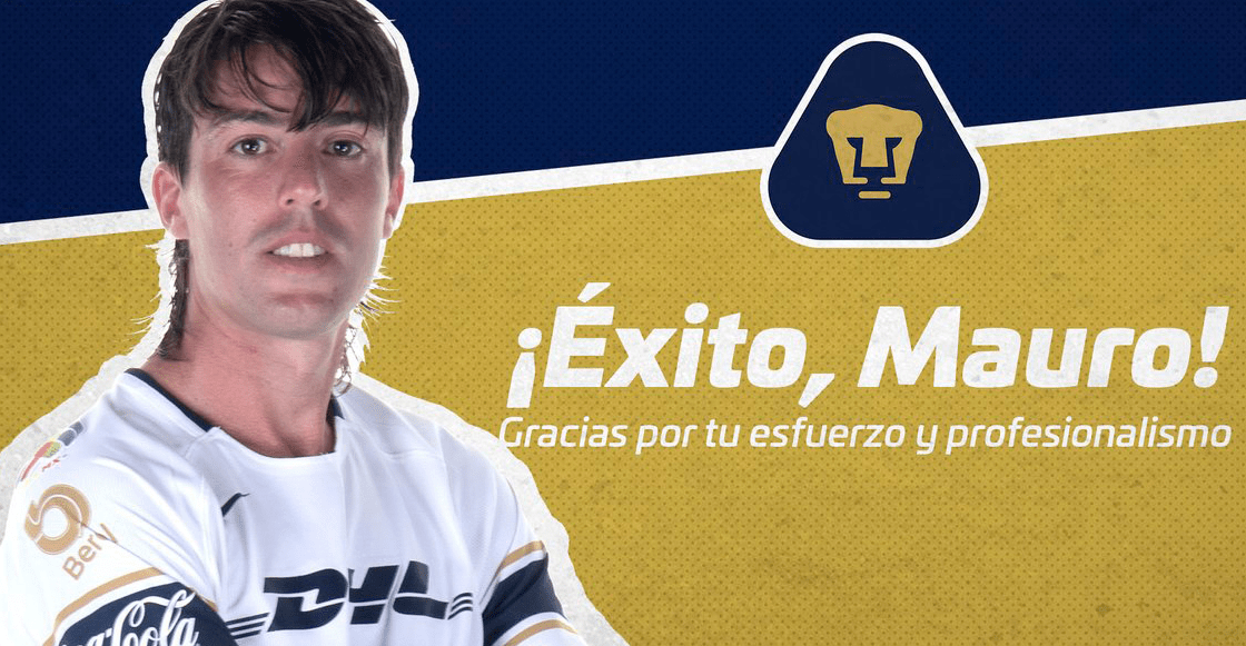 Pumas hace oficial la salida de Mauro Formica al San Lorenzo