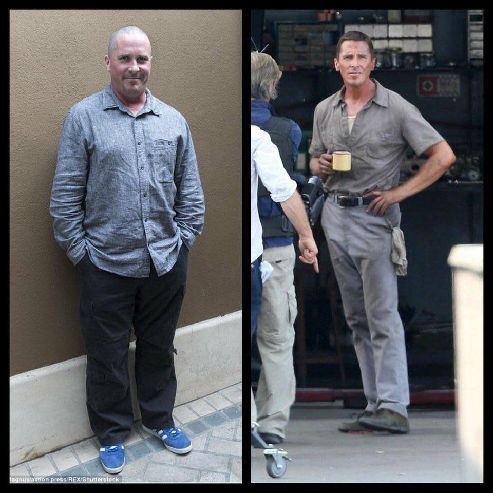 ¡¿Otra vez?! Christian Bale cambia radicalmente su físico para nueva película