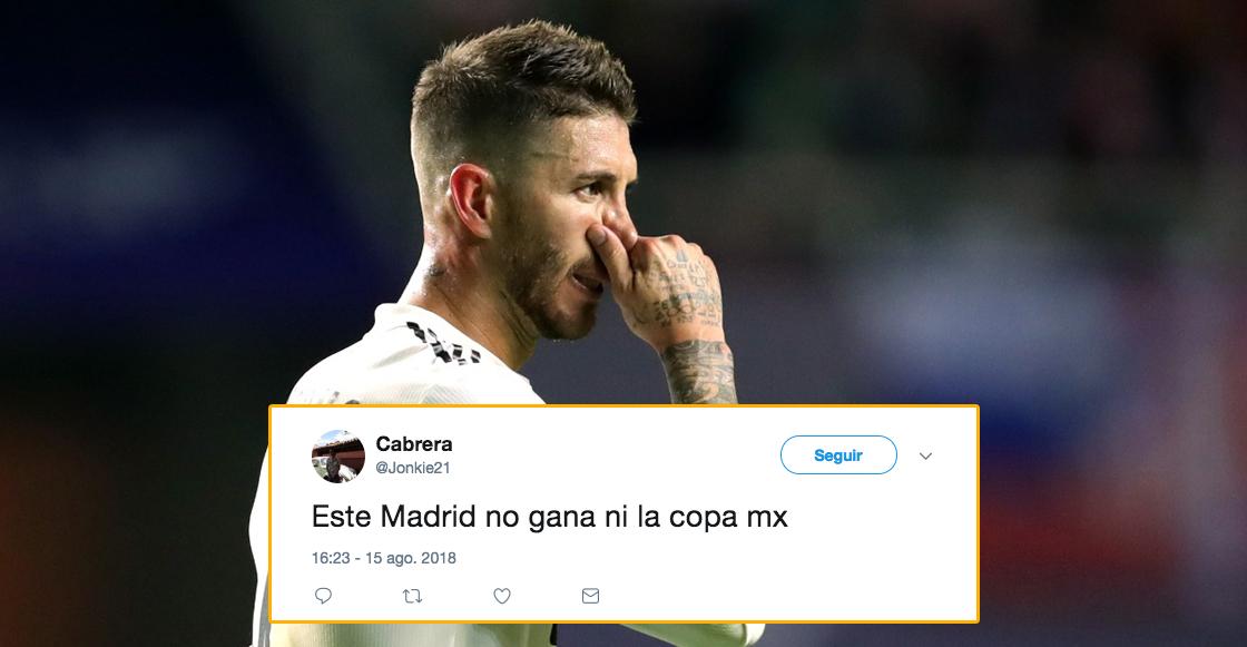 Sergio Ramos en el Madrid