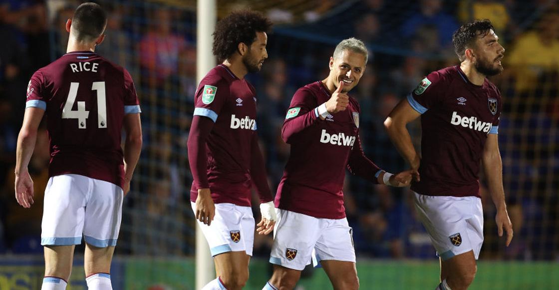 Revive el gol de Chicharito Hernández con el West Ham en la Carabao Cup