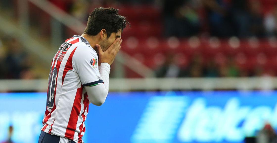 ¿Cómo fue la salida de Rodolfo Pizarro de Chivas?