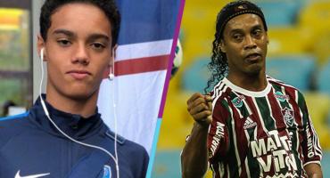 Hijo de Ronaldinho, a punto de firmar su primer contrato a los 13 años