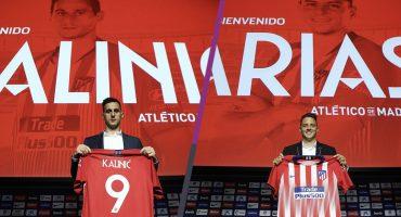 ¡Colchoneros! Santiago Árias y Nicola Kalinic presentados con el Atlético de Madrid
