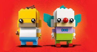 D'oh! Anuncian los LEGO BrickHeadz de Homero Simpson y Krusty