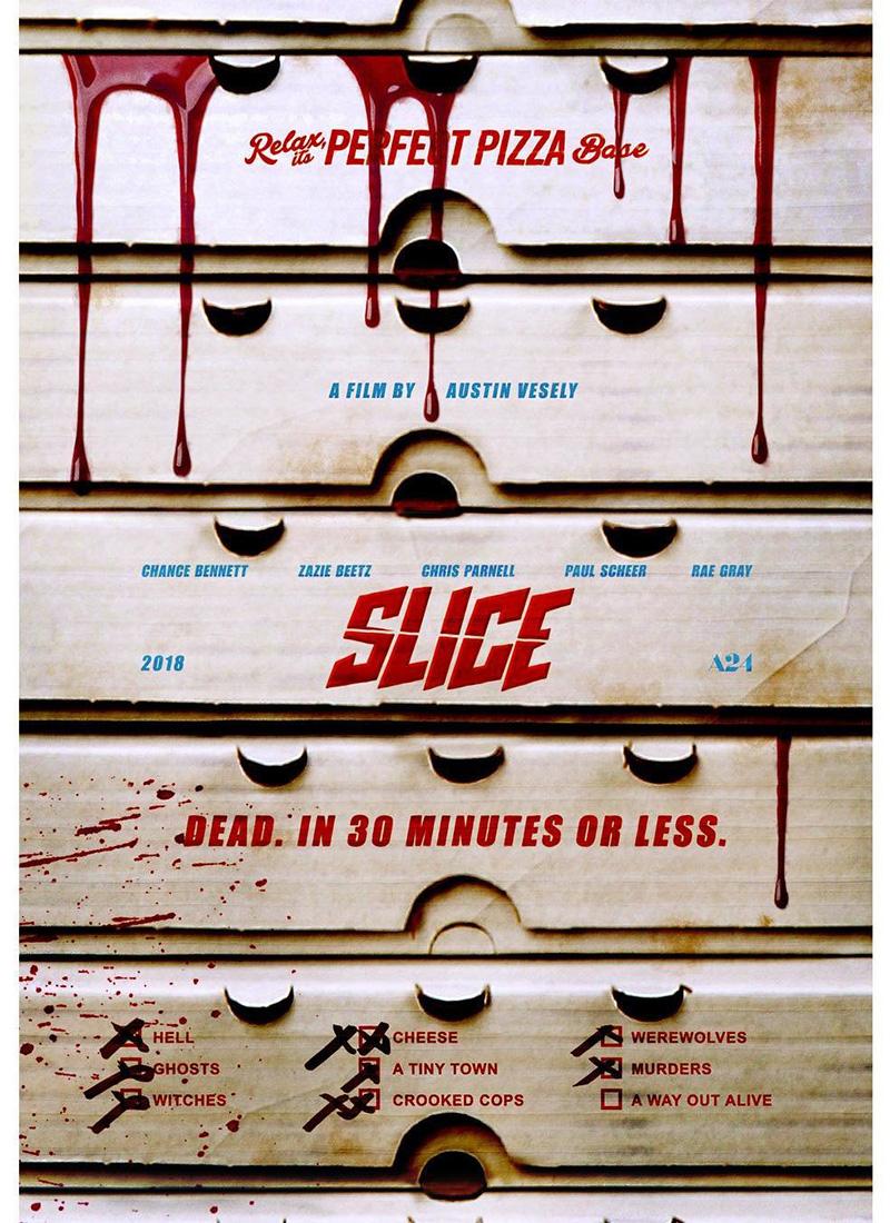 Checa el tráiler de Slice'', una historia de terror, hombres lobo y pizzas del infierno