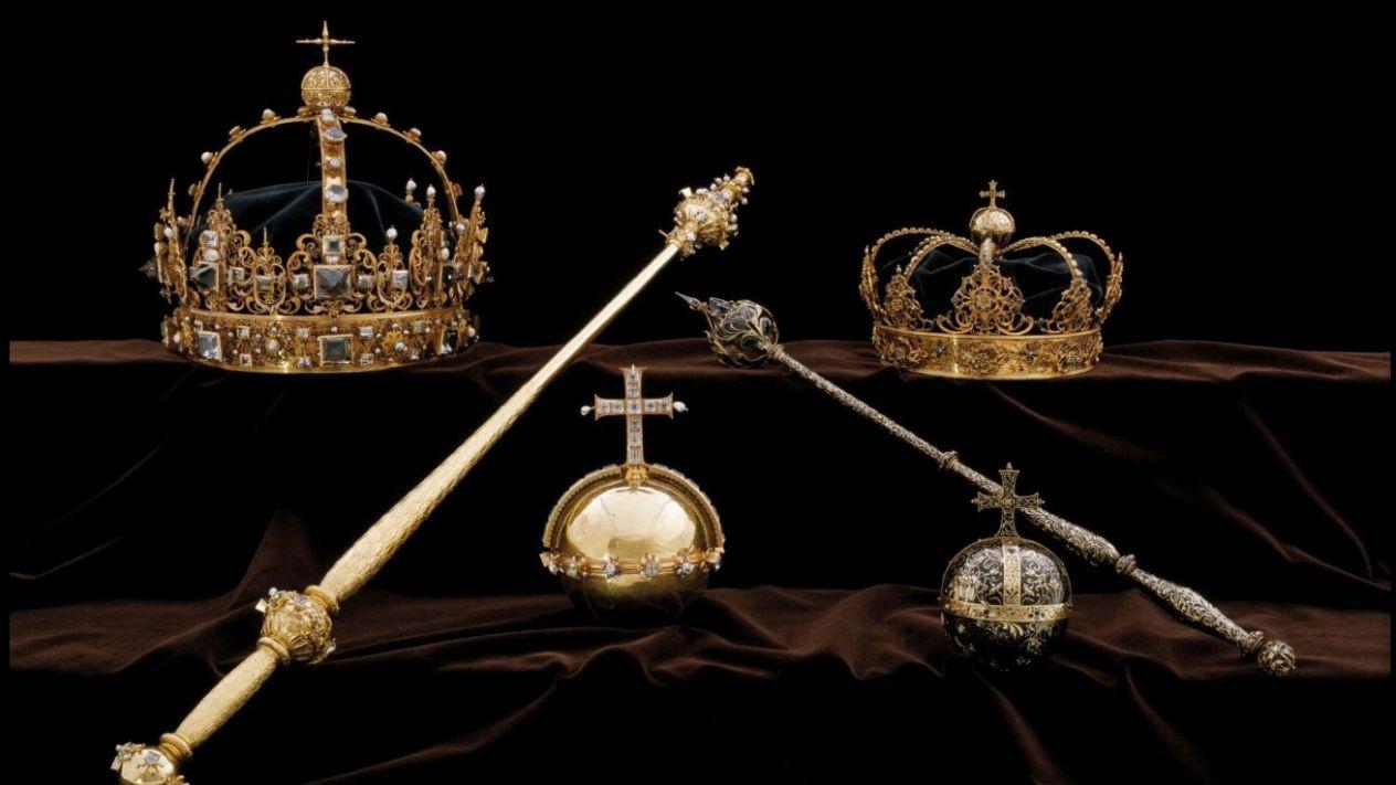 Joyas robadas a familia real de Suecia