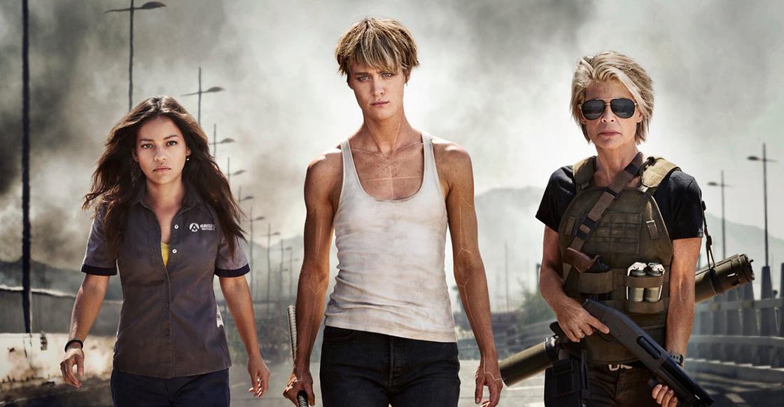 Sale la primera imagen oficial de la nueva 'Terminator' con Linda Hamilton