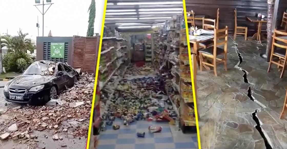 En imágenes: Así se vivió el terremoto de Venezuela en Trinidad y Tobago