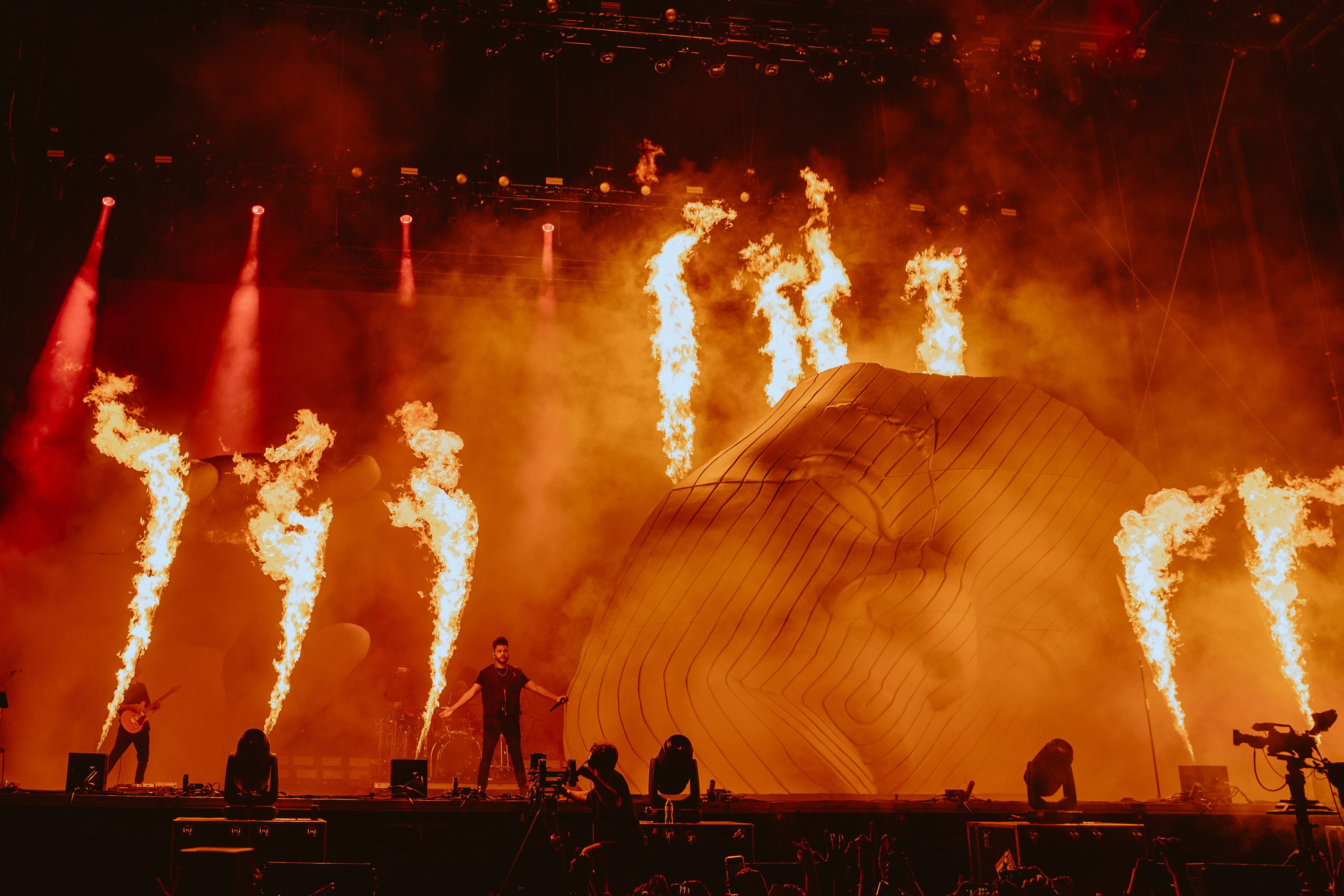 The Weeknd en Lollapalooza