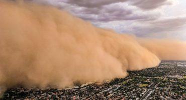 En imágenes: Una enorme tormenta de arena cubre Phoenix, Arizona