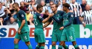 Tottenham se impone al Newcastle y consigue sus primeros tres puntos