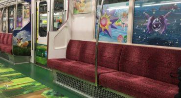 Lánzate al tren de Pokémon en Tokio
