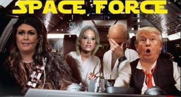 Meme, Trump y su Fuerza Espacial