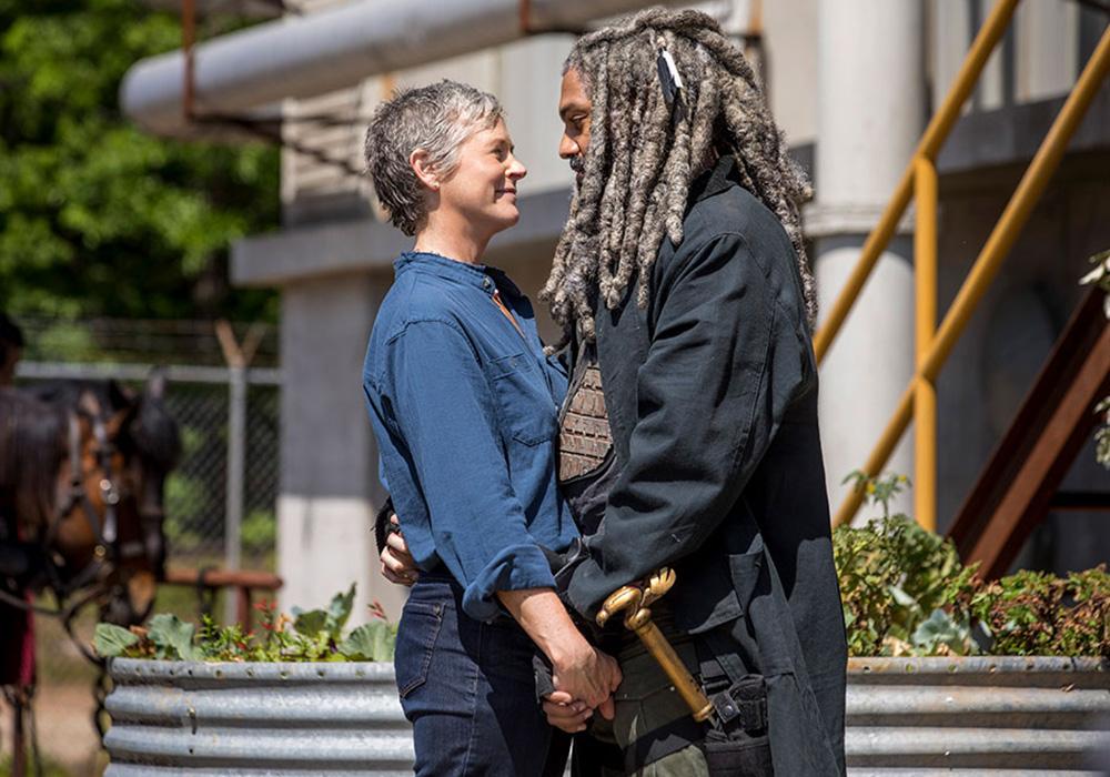 Salen nuevas imágenes de la novena temporada de 'The Walking Dead'