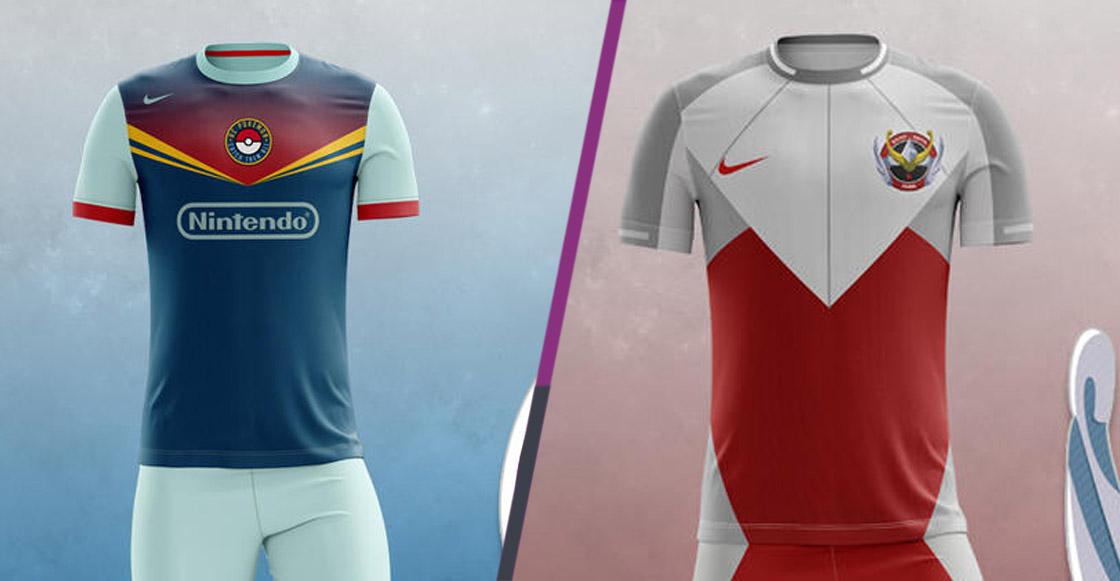 9cd69925ac840 Estos increíbles uniformes de futbol son… ¿basados en anime  ¡Chécalos!
