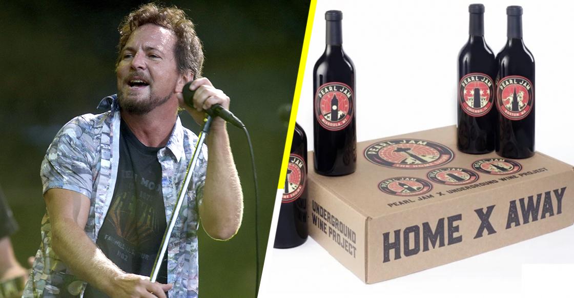 Pearl Jam lanzó su propio vino... ¡y se acabó en 12 minutos!