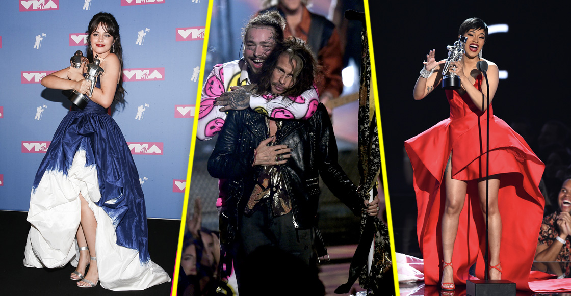 This is the VMA's! Esta es la lista de ganadores de los MTV Video Music Awards 2018