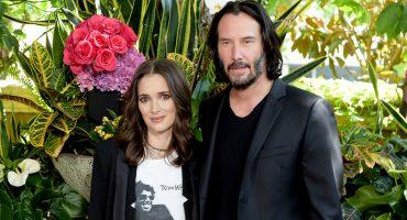 ¡¿QUÉ?! Winona Ryder y Keanu Reeves han estado casados desde hace 26 años